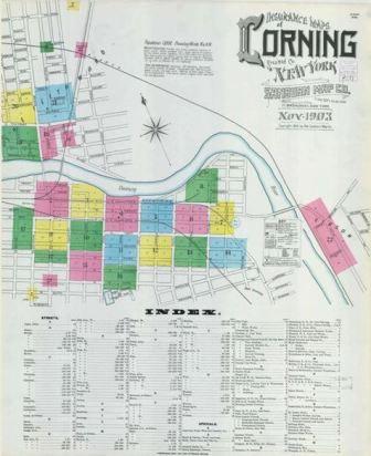 November 1903, Corning, NY